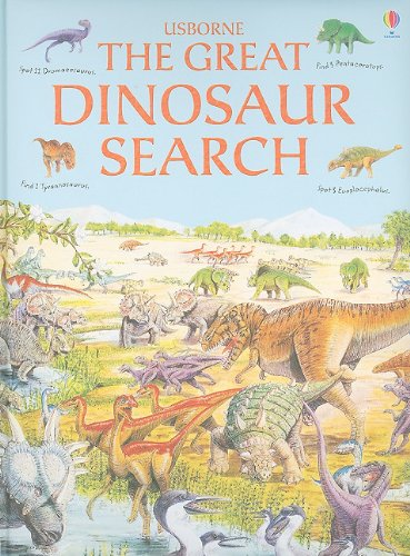 9780794528539: The Great Dinosaur Search (Great Searches)