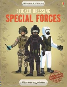 9780794528683: Sticker Dressing Special Forces