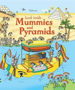 9780794528713: Look Inside Mummies and Pyramids (Look Inside Board Books)