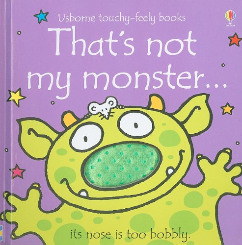 9780794528782: That's Not My Monster...(Usborne Touchy-Feely Books)