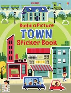 9780794528805: Build a Picture Sticker Book Towns