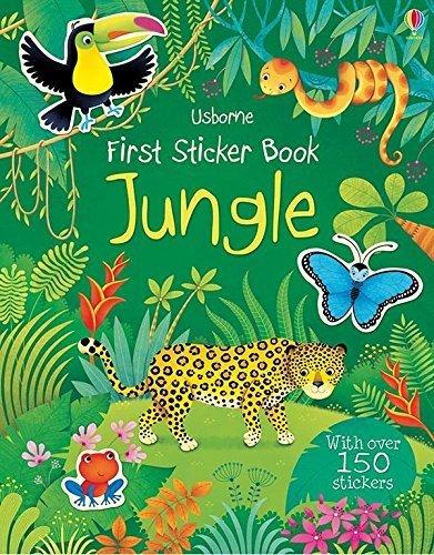9780794529093: First Sticker Book Jungle by Alice Primer (2014) Paperback