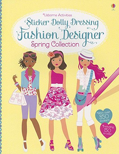 9780794529147: Sticker Dolly Dressing Fashion Designer Spring Collection