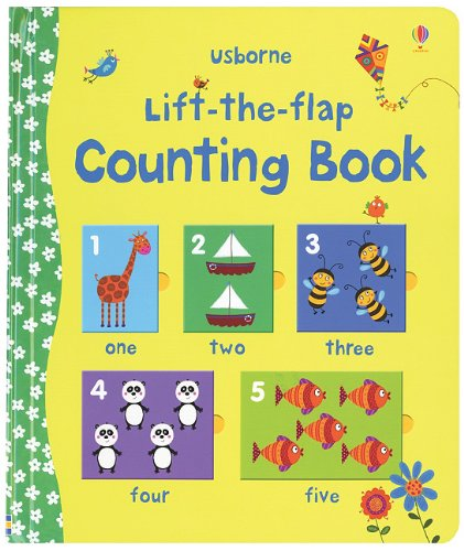 9780794529161: Lift-The-Flap Counting Book
