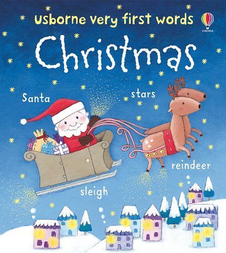 Usborne Very First Words Christmas: Rosalinde Bonnet