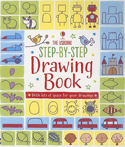 9780794529536: Step-By-Step Drawing Book