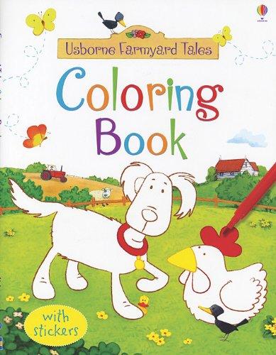9780794529598: Farmyard Tales Sticker Coloring Book (Usborne Farmyard Tales)
