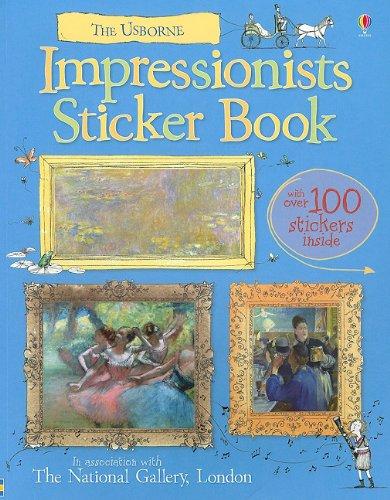 9780794529611: Impressionists Sticker Book (Art)
