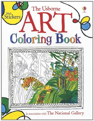 9780794529765: The Usborne Art Coloring Book (Coloring Books)
