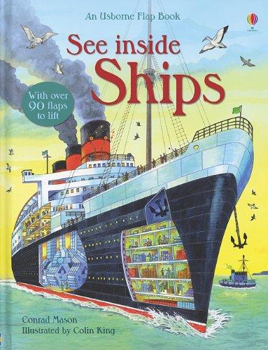 9780794530051: See Inside Ships (An Usborne Flap Book)