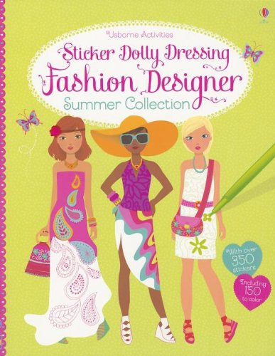 9780794530082: Sticker Dolly Dressing Fashion Designer Summer Collection