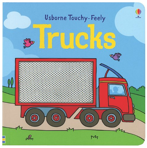 9780794530341: Trucks Touchy Feely (Usborne Touchy-Feely)