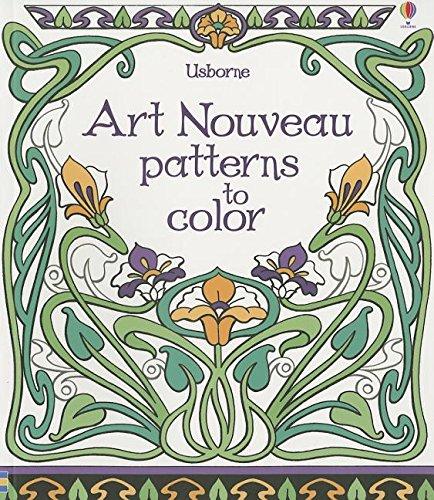 9780794530549: Art Noveau Patterns to Color