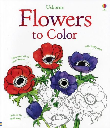 9780794530587: Flowers to Color (Nature Coloring Books)