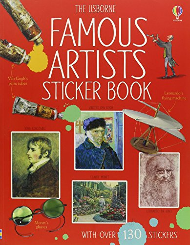 9780794531102: Famous Artists Sticker Book (Sticker Reference)