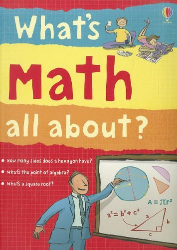 What's Math All About?: Frith, Alex, Lacey,