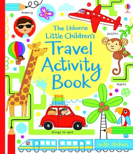 9780794531270: The Usborne Little Children's Travel Activity Book (Activity Books for Little Children)
