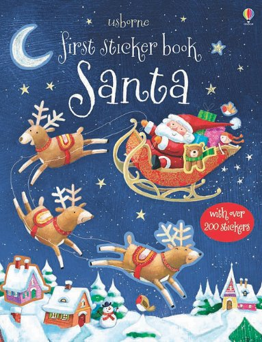 9780794531300: Usborne First Sticker Book: Santa