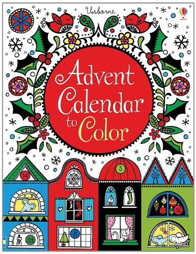9780794531362: Advent Calendar to Color