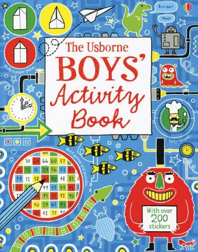 9780794531713: Boy's Activity Book