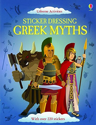 9780794531768: Sticker Dressing Greek Myths