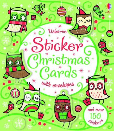 9780794531775: Sticker Christmas Cards (Greeting Cards)