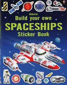 Build Your Own Spaceships Sticker Book: Simon Tudhope