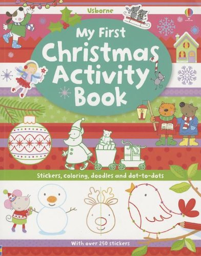 9780794531829: My First Christmas Activity Book