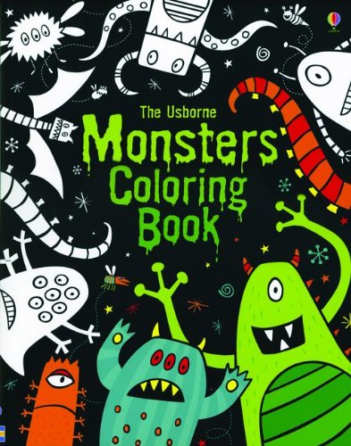 9780794531959: Monsters Coloring Book (Coloring Books)