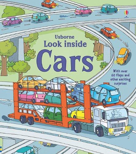 Look Inside Cars (Usborne Look Inside): Jones, Rob Lloyd