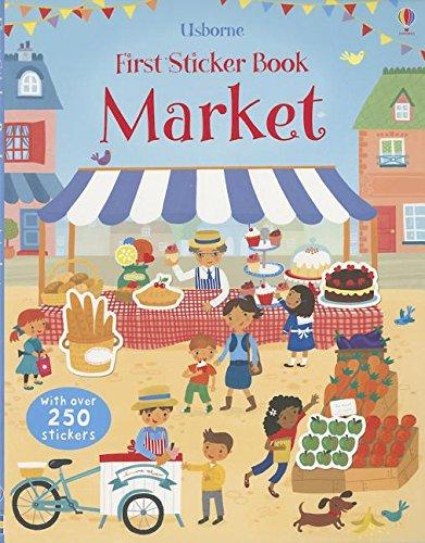 9780794532369: Market (Usborne First Sticker Book)
