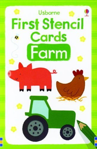 9780794532451: Farm First Stencil Cards