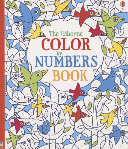 9780794532512: The Usborne Color by Numbers Book