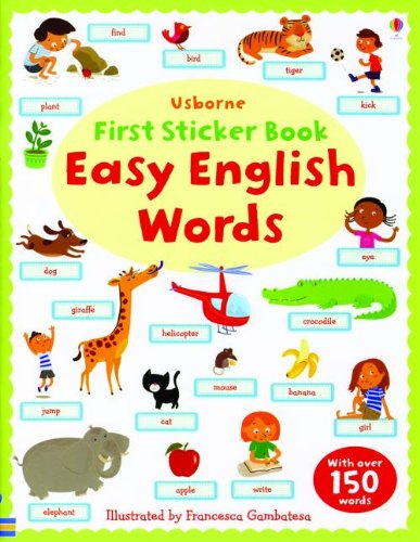 9780794532635: Easy English Words (Usborne First Sticker Books)