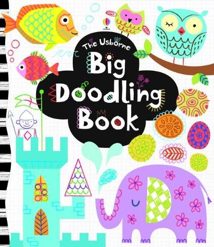 9780794532697: The Usborne Big Doodling Book (Activity Books)