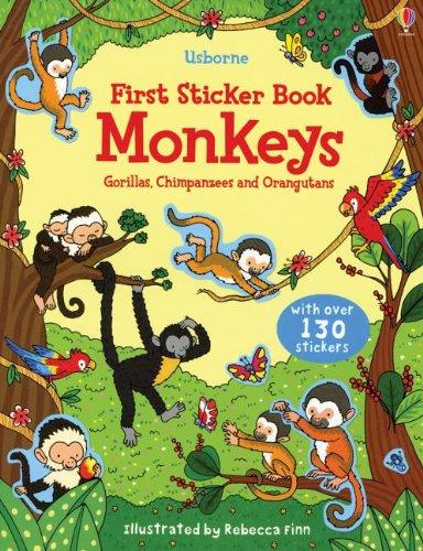 First Sticker Book Monkeys (First Sticker Books): Dudziuk, Kasia