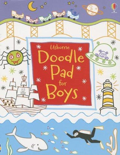 Usborne Doodle Pad for Boys: Kirsteen Rogers,Usborne Publishing
