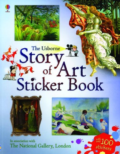 9780794532956: Story of Art Sticker Book