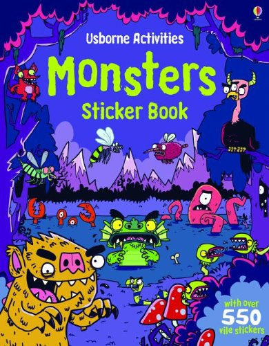 9780794533250: Monsters Sticker Book