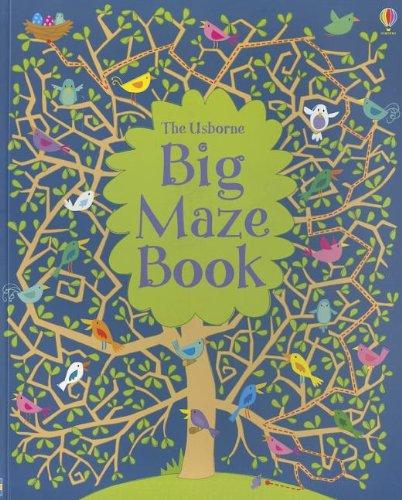 9780794533458: Big Maze Book (Doodling Books)