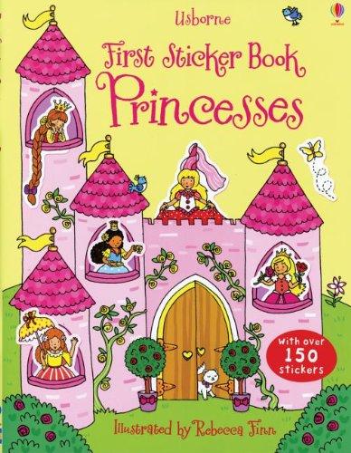 First Sticker Book Princesses (First Sticker Books): Dudziuk, Kasia