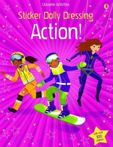 Sticker Dolly Dressing Action!: Watt, Fiona