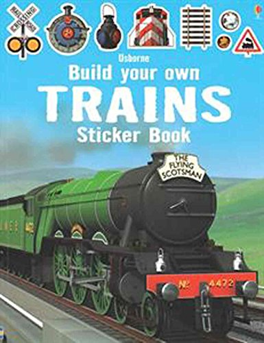 9780794534127: Build Your Own Trains Sticker Book