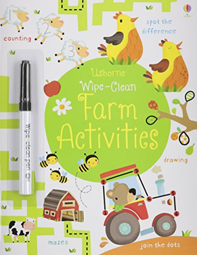 9780794534202: Farm Activities Wipe-Clean