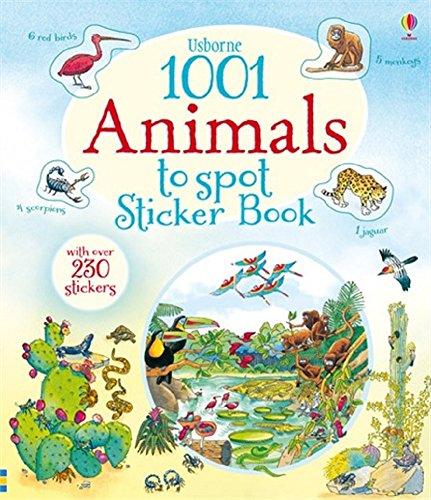 9780794534400: 1001 Animals to Spot Stick Book