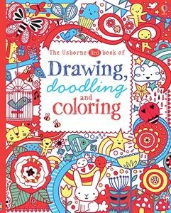 The Usborne Red Book of Drawing, Doodling and Coloring: Bowman, Lucy