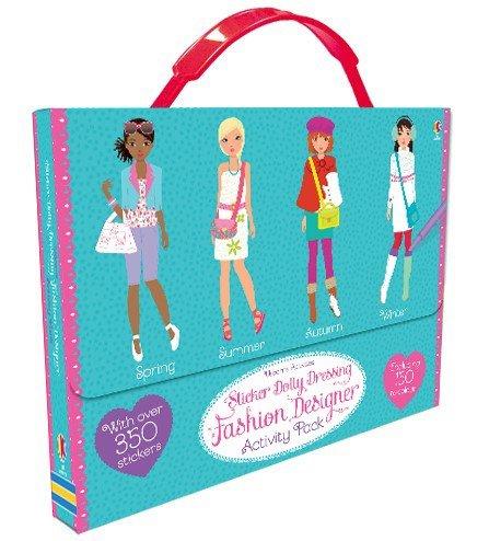 9780794535087: Sticker Dolly Dressing Fashion Designer Activity Pack