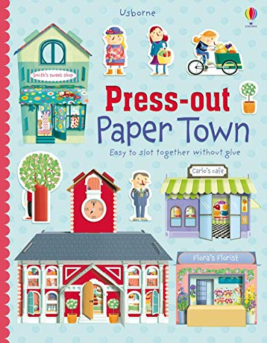 9780794535186: Press-out Paper Town