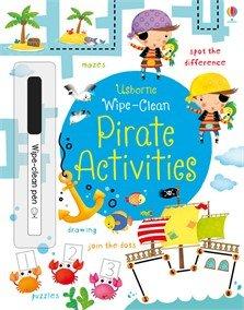 9780794535438: Wipe-Clean Pirate Activities (Usborne Wipe-Clean Books)