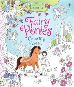 9780794535926: Fairy Ponies Coloring Book